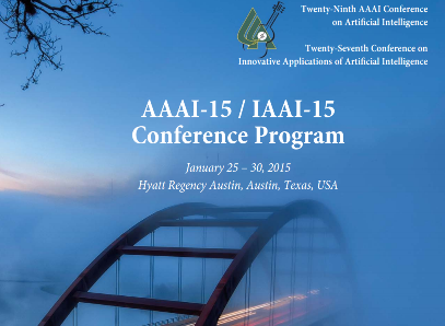 <b>AI Conference &#8211; January 25-30, 2015:</b> Brian attended the Association for the Advancement of Artificial Intelligence (AAAI) annual meeting in Austin.  There were several great presentations covering Cognitive Computing (e.g., IBM's Watson) and Deep Learning.
